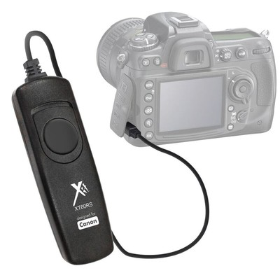 Wired Remote Control for Canon T3i Plus, Black