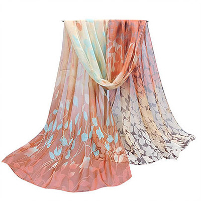 NEW FOR SPRING: Amber Golds Vines Scarf or Sarong