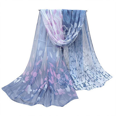 NEW FOR SPRING: Dark Lavender Vines Scarf or Sarong