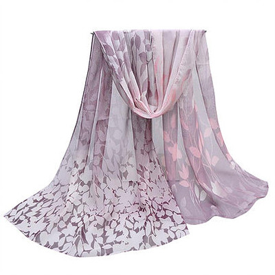 NEW FOR SPRING: Soft Lavender Vines Scarf or Sarong