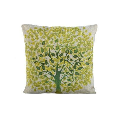 Vintage Tree Print Cushion And Filler