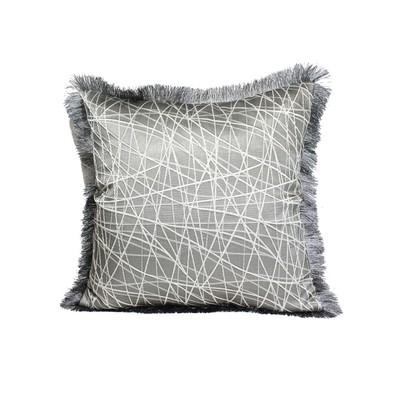 Abstract Stroke Design Cushion Cover & Filler