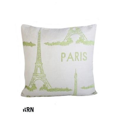 Paris Eifel Tower Print Cushion And Filler