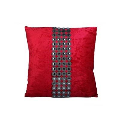 Velvet & Buttons Cushion & Filler