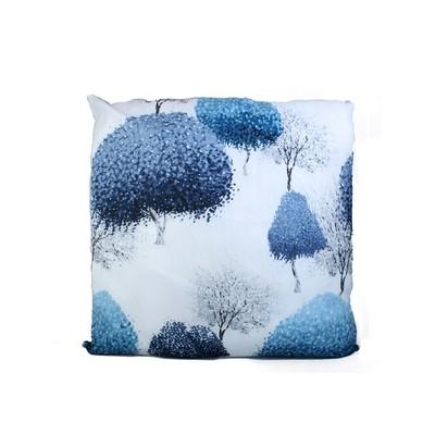 Ink Print Trees Cushion & Filler