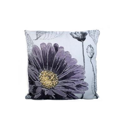 Daisy Print Cushion & Filler