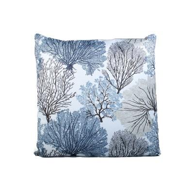 Trees Print Cushion & Filler