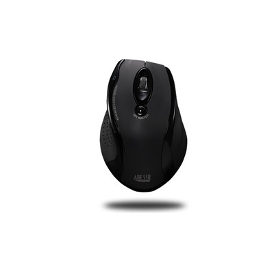 Adesso Wireless Ergonomic RF Laser Mouse