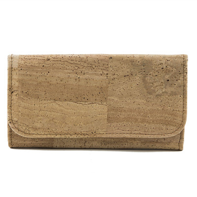 Cork Wallet Women's Vegan Gift Medium Size