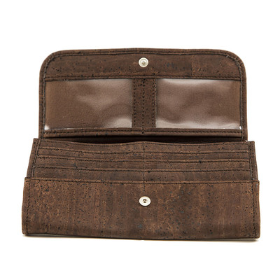 Cork Wallet Brown Vegan Gift Designed in Canada