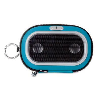 ISOUND-1670 Concert To Go Portable Speaker Case - Blue (845620016709)
