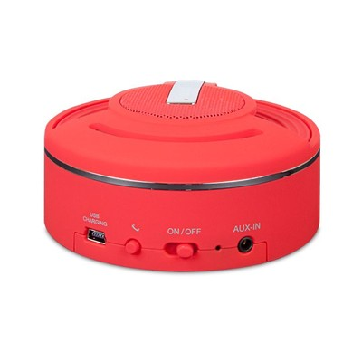 iSound Hang On Bluetooth Portable Speaker - Red (845620053445)