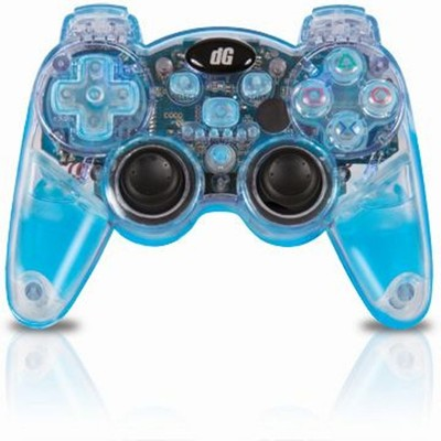 Dreamgear Lava Glow Wireless Controller - Blue