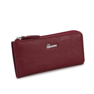 Luxanne Simplicity Red Medium Wallet