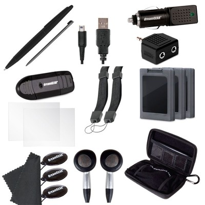 dreamGEAR 20-in-1 Essentials Kit for Nintendo 3DS XL
