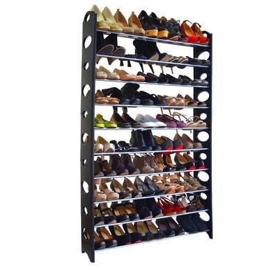 50-Pair Shoe Rack