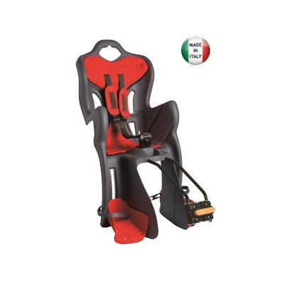 Child Bike Seat. Bellelli Italy - B-ONE Standard GREY