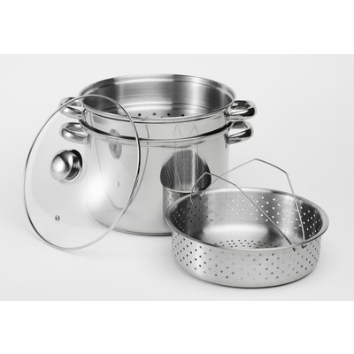 Pasta Stainless Steel 4-Piece Cookware Set - 8 liters