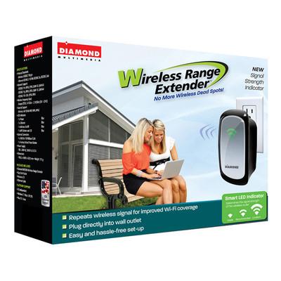 Diamond Multimedia Wireless Range Extender, English (WR300NSI)