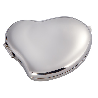 """""""Beating Heart Compact Mirror- 2.5"""""""" Wide"""""""