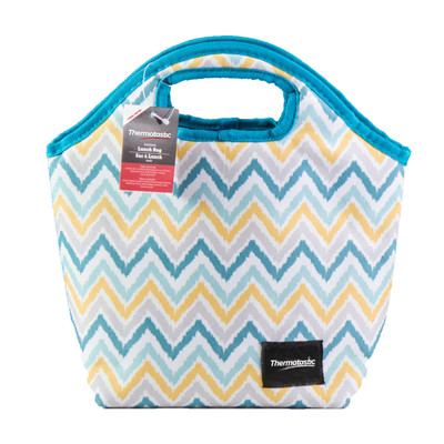 Thermotastic Insulated Lunch Bag, Blue & Yellow (1906-0927)