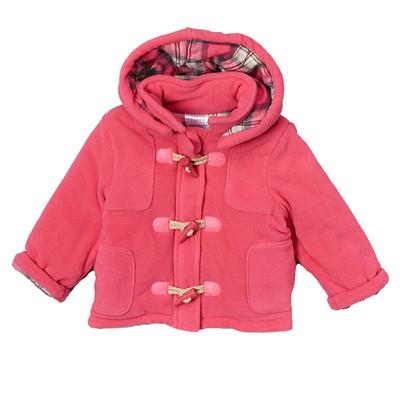 Infant Micro Polar Fleece Jacket - Pink