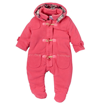 Micro Polar Fleece Pram - Pink