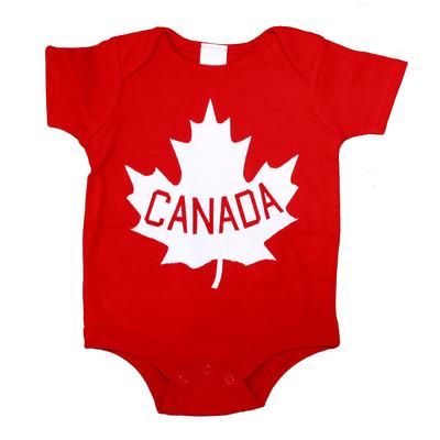 Canada Bodysuit - Red
