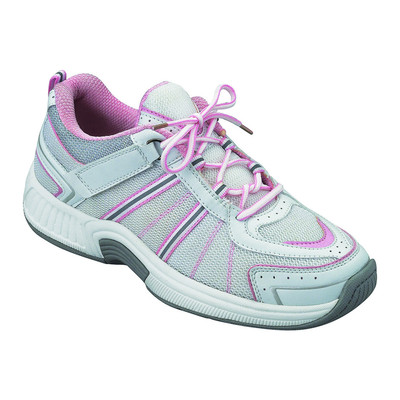 Orthopedic Footwear - Ortho Feet Women's Tahoe Comfort Athletic White/Pink
