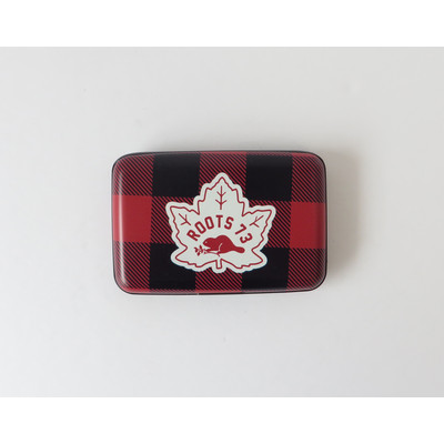 Aluminum Case with Maple Leaf