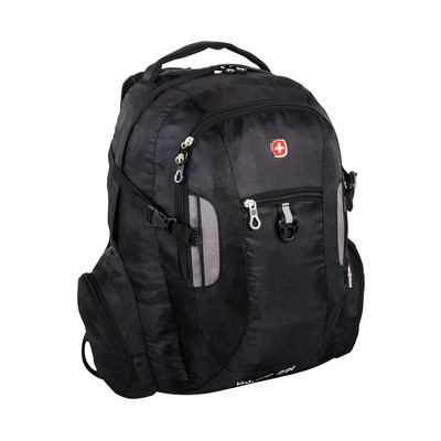 "Swiss Gear Backpack Fits 15.6"" Laptop with added Chest Strap for Better Stability"