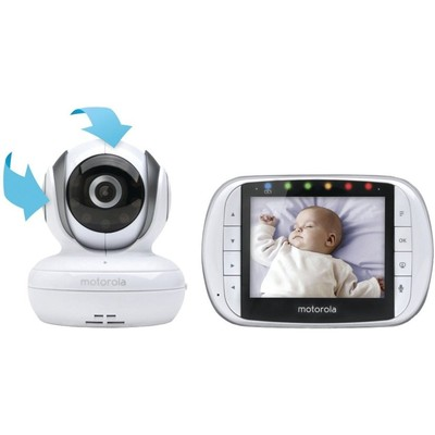 "Motorolla Digital Video Baby Monitor with 3.5"" screen"