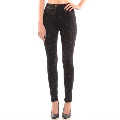 Knit Spacedye Legging In Black