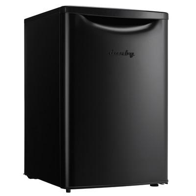 Danby Contemporary Classic 2.6 cu. ft. Compact Refrigerator, Matte Black