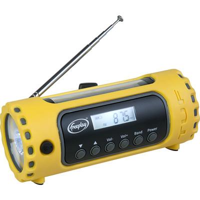 Freeplay Tufâ?¢ Digital Radio with SHORTWAVE / Flashlight  (4893114212232)