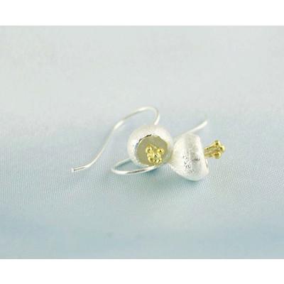 Bell Lotus Earrings