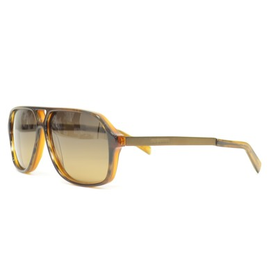 Jil Sander JS652S Sunglasses in BROWN/CARAMEL