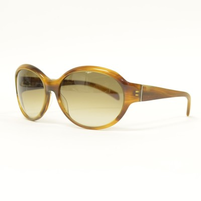 Jil Sander JS661S Sunglasses in STRIPED BROWN