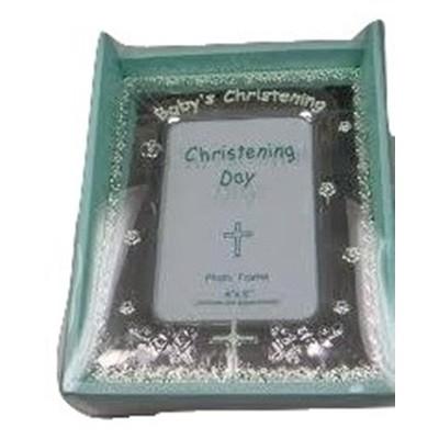 """Christening 4x6"""" Photo Frame"""