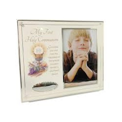 My First Communion Photo Frame with Text
