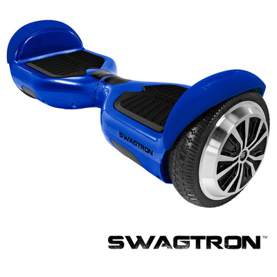 SWAGTRON T1 Self Balancing Electric Scooter, Blue (88570-4)