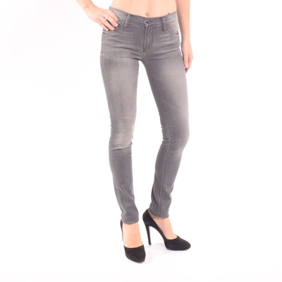 Stella Mid Rise Skinny Jeans In Ash