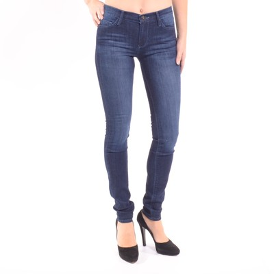 Stella Mid Rise Skinny Jeans In Serendipity