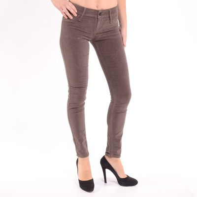 Black Jewel Mid Rise Skinny Leg Jeans In Bronze