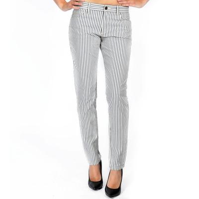 Joe's Jeans Women's Slim Fit Weekend Collection Crop In Blueberry Stripe