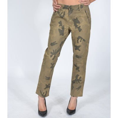 Straight Ankle Trouser In Dya