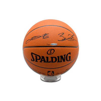 Lebron James & Dwayne Wade Dual Autographed Official NBA Basketball  - Limited to 136