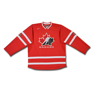 Brayden Schenn Autographed Team Canada Nike Replica Red Jersey  - Limited to 10