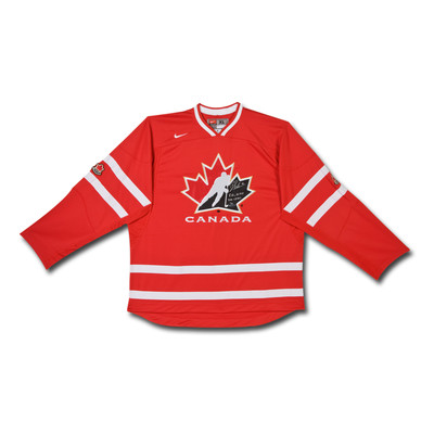 "Brayden Schenn Inscribed ""8G, 10 AST 2011 WJHC"" Team Canada Nike Red Jersey  - Limited to 10"
