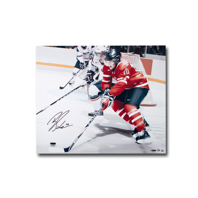 Brayden Schenn Autographed Team Canada 24x20 Photo